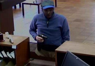 Carlsbad, California Bank Robbery Suspect, Photo 1 of 3 (9/26/12)