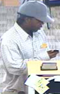 El Cajon, California Bank Robbery Suspect, Photo 7 of 7 (11/16/12)