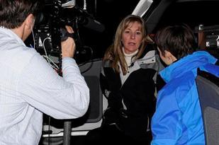 CNU Coordinator SA Kathy Flynn being interviewed by FOX News