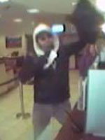 San Diego Bank Robbery Suspect, Photo 4 of 5 (1/4/13)