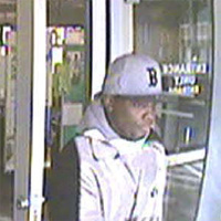Malden Bank Robbery Suspect, Photo 1 of 3 (12/16/10)