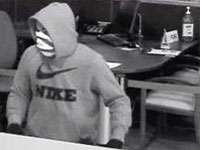Philadelphia Division Serial Bank Robbery Suspect, Photo 1 of 4 (6/19/13)