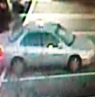 Philadelphia Division Bank Robbery Suspect's Vehicle (11/14/13)