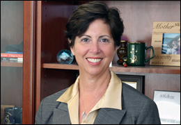 Margaret Gulotta, head of our foreign language program