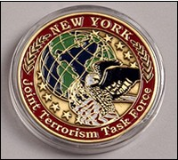 New York JTTF challenge coin