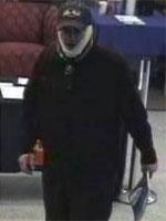 Poway, California Bank Robbery Suspect, Photo 4 of 8 (3/18/14)