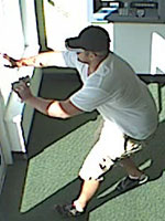 Lighthouse Point, Florida Bank Robbery Suspect, Photo 1 of 5 (11/9/12)