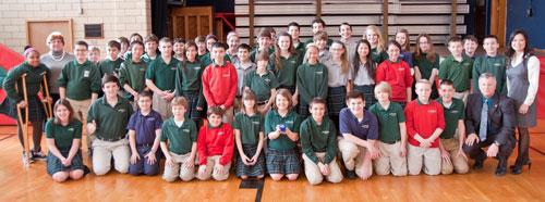 St. Ambrose School Students (3/12/13)