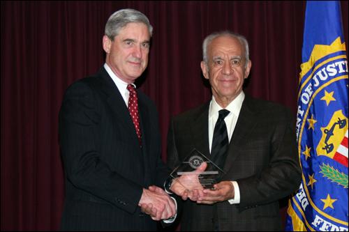 Director Mueller and Jose Rodriguez
