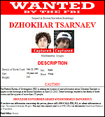 Dzhokhar Tsarnaev captured thumbnail