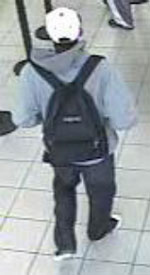 San Diego Bank Robbery Suspect, Photo 1 of 6 (1/10/13)