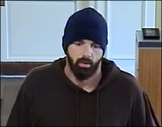 Bearded Bandit Robs Bank in Rhode Island on July 26, 2012 (County Rd.)