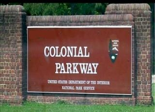 Colonial Parkway Sign (1/7/10)