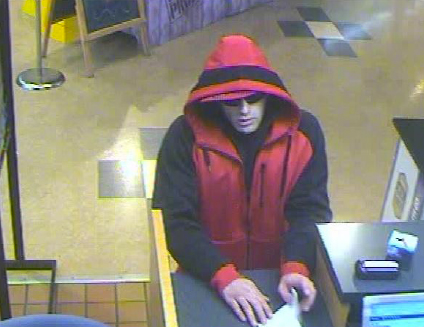 Suspect in Town and Country Bank Robbery (11/19/13)