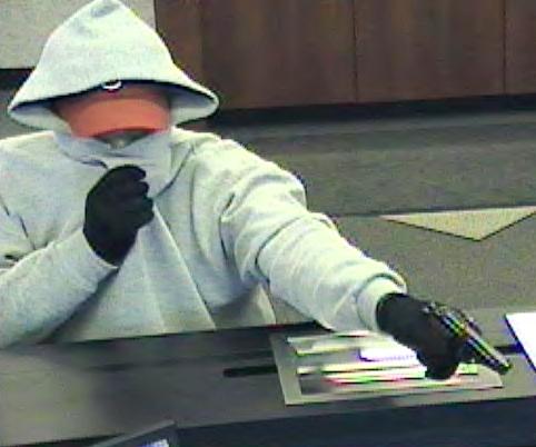 Philadelphia Bank Robbery Suspect, Photo 2 of 4 (4/5/13)
