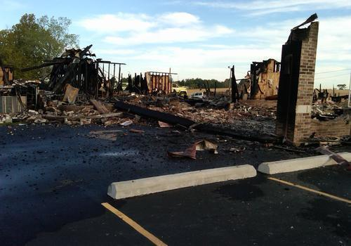 Islamic Center of Joplin After Fire (8/6/12)
