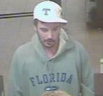 Knoxville Bank Robbery Suspect, Photo 3 of 5 (12/17/10)