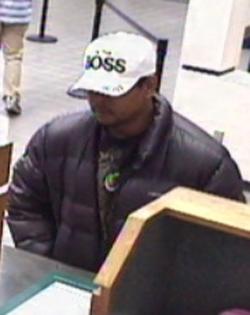 Oklahoma City Bank Robbery Suspect, Photo 5 of 5 (2/14/13)