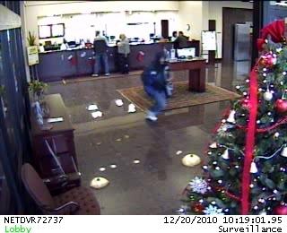 Oklahoma City Bank Robbery Suspect, Photo 2 of 2 (12/20/10)