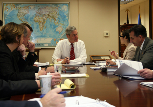 In addition to briefing the FBI Director and his senior staff, our briefers also participate in similar daily sessions with the U.S. Attorney General.