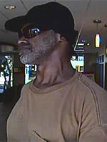 San Diego Bank Robbery Suspect, Photo 1 of 4 (8/29/13)