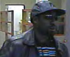 San Diego Bank Robbery Suspect, Photo 3 of 5 (12/30/10)
