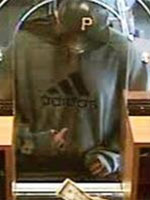 Old Bridge, New Jersey Bank Robbery Suspect, Photo 7 of 7 (10/8/13)