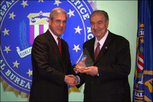 Detroit field office Director's Community Leadership Award 2011