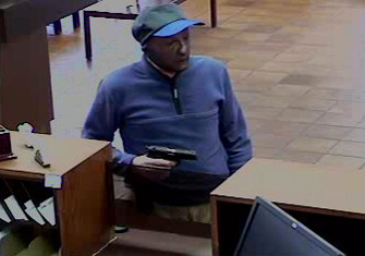 Carlsbad, California Bank Robbery Suspect, Photo 2 of 3 (9/26/12)