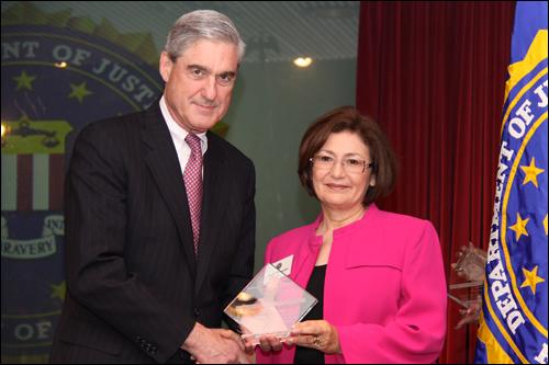 Director Mueller and Virginia McCrimmon