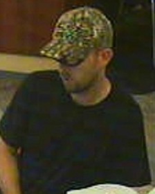Knoxville Bank Robbery Suspect, Photo 1 of 3 (8/24/13)