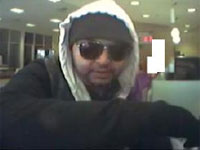 San Diego Bank Robbery Suspect, Photo 3 of 5 (1/4/13)
