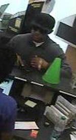Houston Bank Robbery Suspect, Photo 1 of 2 (9/26/12)