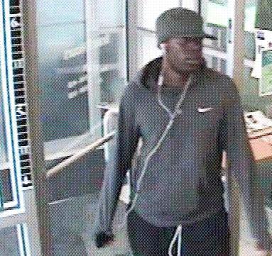 Philadelphia Bank Robbery Suspect, Photo 3 of 3 (9/10/13)