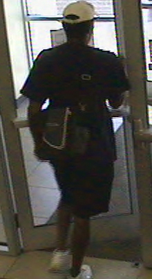 Denver Bank Robbery Suspect, Photo 4 of 4 (9/28/11)