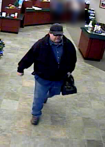 St. Louis Serial Bank Robbery Suspect, Photo 3 of 3 (12/22/09)
