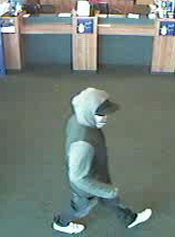 San Diego Bank Robbery Suspect, Photo 2 of 3 (1/14/13)