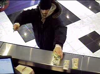 Philadelphia Bank Robbery Suspect, Photo 2 of 2 (12/29/09)