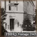 FBI Headquarters exterior in 1943