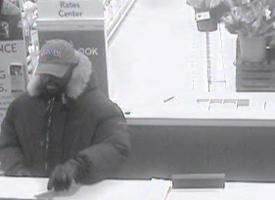 Bala Cynwyd, Pennsylvania Bank Robbery Suspect, Photo 1 of 3 (2/2/13)
