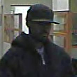 San Diego Bank Robbery Suspect, Photo 2 of 5 (12/30/10)