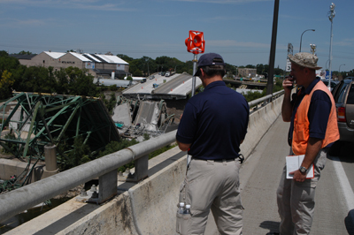 FBI Bridge Probe Photo Gallery II