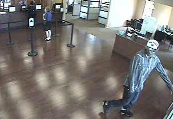 Houston Bank Robbery Suspect, Photo 3 of 3 (8/25/12)