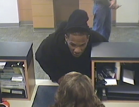Powder Springs Bank Robbery Suspect, Photo 8 of 12 (10/28/13)