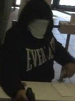 Davie, Florida Bank Robbery Suspect, Photo 2 of 3 (12/9/13)