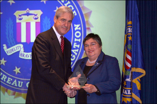 Newark field office Director's Community Leadership Award 2011