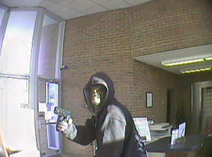 Pigeon Forge, Tennessee Bank Robbery Suspect, Photo 5 of 5 (12/14/10)