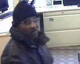 Philadelphia Bank Robbery Suspect, Photo 2 of 2 (2/27/13)