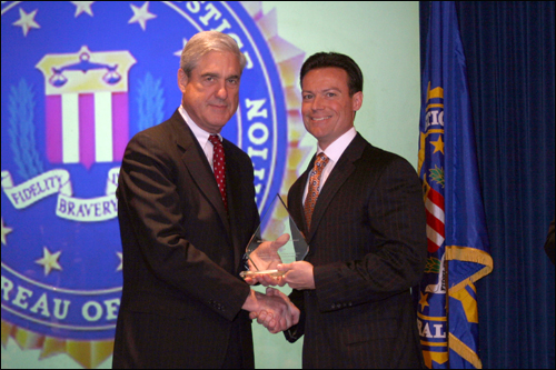 Springfield field office Director's Community Leadership Award 2011
