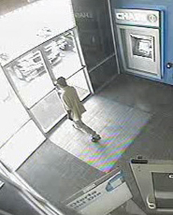 Houston Bank Robbery Suspect, Photo 3 of 4 (7/30/13)